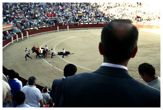 Corrida de toros in Las Ventas, Madrid, oder: Tod am Nachmittag ((Bullfighting in Las Ventas, Madrid, or: Death in the afternoon.)