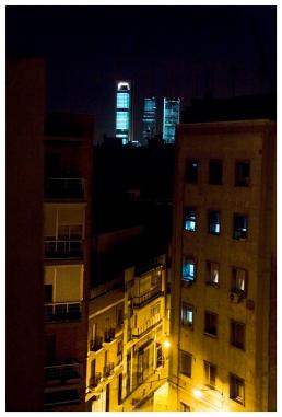 Blick in Richtung Quatro Torres Business Area (city view towards Quatro Torres Business Area)