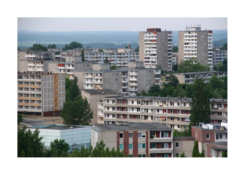 Stadtteil Neuberesinchen, Frankfurt an der Oder, im Juli 2006.
