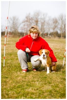 Mitglied eines Hundesportvereins