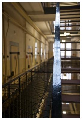 Treppengeländer auf Ebene 2. (Handrail on 2nd floor.)