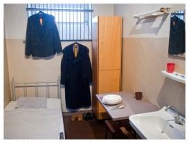 Prototypische Gefängniszelle. (Prototypical prison cell.)