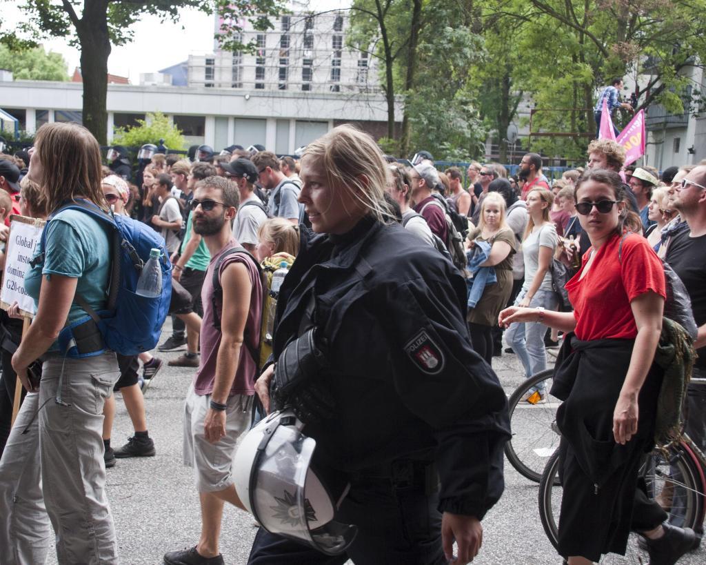 G20 Proteste Hamburg HH 2017