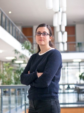 Ariadna Ripoll, Professorin für Politikwissenschaft. (Professor of Political Science.)
