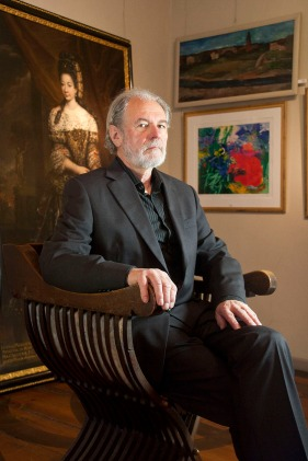 Joseph Schlosser, Kunstauktionator. (Art auctioneer.)