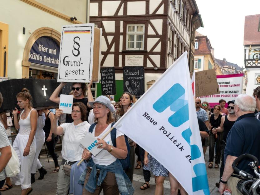Demonstration gegen PAG-Gesetz, Bamberg 12.05.2018