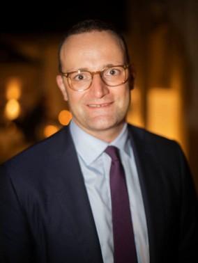 Jens Spahn (CDU), Bundesgesundheitsminister. (Federal Minister of Health.)